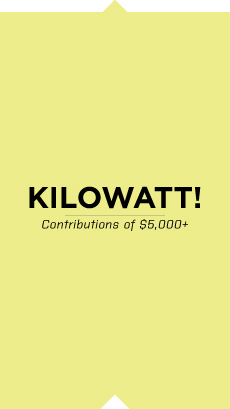 Kilowatt contribution at least $5,000
